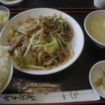 アジア料理 菜心 - 搾菜と豚肉細切り炒め(15-05)