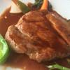 サントリーニ - 料理写真:豚肩ロースステーキ