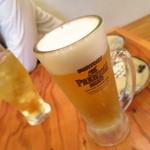 串車力 - プレミアムモルツ390円