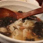 香 - 雲呑スープ