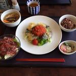 ラウンジ琉菜 - Aランチ(魚の香草焼き)