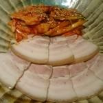 38278611 - 皮付き豚のポッサム