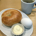 ポーズ カフェ - モーニングベーグルセットA