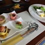 四季亭 はな村 - 料理写真:洋風懐石