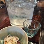 蕎麦の三心 - 冷酒(宮城の掌)