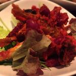 Pescheria Cara mishuku - アジと豆のトマト煮