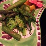 Pescheria Cara mishuku - ゴロゴロ野菜。確かにゴロッと。