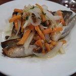 トラットリア フランコ - 鮭のピエモンテーゼ