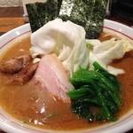 麺肴 ひづき - 2015年5月の限定、ひづき流豚骨醤油