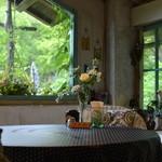 ボンジュール・プロヴァンス - 室内でも緑に囲まれた落ち着ける雰囲気♡