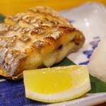 鯛や - 太刀魚の炭火焼き