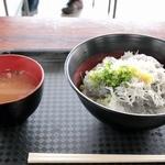 田子の浦港 漁協食堂 - 富士山丼