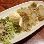 きざみ - ジャコテンの天ぷら