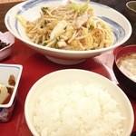 きざみ - 料理写真:ランチの皿うどん定食