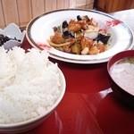 きざみ - ランチの酢豚定食
