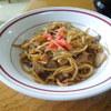 Yanagiyashiyokudou - 料理写真:サービスの焼きそば