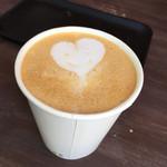 エヌプラスコーヒー - カフェラテ