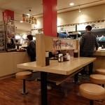 金比羅製麺 - 店内①