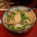 金比羅製麺 - きつねうどん