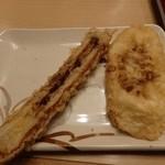 金比羅製麺 - ちくわ天・レンコン天