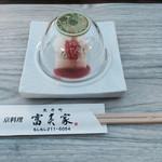 先斗町 京料理 富美家 - 鱧コースを頼みました ( ´ ▽ ` )