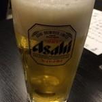 あゆら - 生ビール