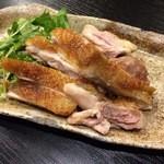 あゆら - 近江黒鶏のもも焼