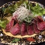 あゆら - 近江牛の炙り(もも)