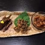 あゆら - 近江の佃煮三種盛