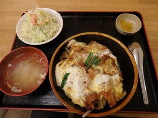 定食屋 六宝亭 - バラかつ丼