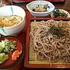 大心亭 - 料理写真:ざるそば+玉子丼