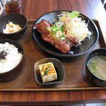 38286013 - スペアリブ定食(2015.04)