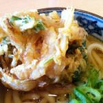 金比羅製麺 - かき揚げ