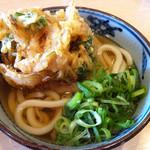 金比羅製麺 - かけうどん(並・太麺)