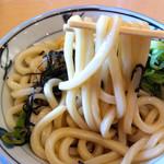 金比羅製麺 - ぶっかけうどん(大・冷・太麺)
