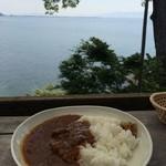 シャーレ水ヶ浜 - 自家製ビーフカレー
