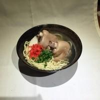中村商店 - てびちそば  750円~