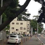 のんき亭 - 国道沿い