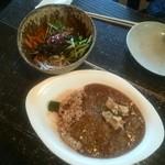 ピンチ オブ ソルト - カレーとビビンバ丼