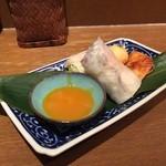 アジアン麺茶 - アジアン3種盛り