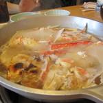 海老名 甲羅本店 - 黄金スープ 開始