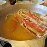 海老名 甲羅本店 - 黄金スープ 完成