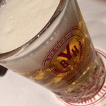 恵比壽ビヤホール - スタンダードプラン(4,800円)の『生ビール・黒ラベル』2015年5月