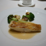 レストラン コートドール - 松皮鰈のソテー