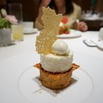 レストラン コートドール - レモンのタルト