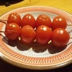 香魚 - 焼きプチトマト