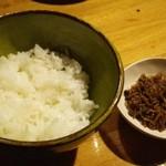 香魚 - 自家製じゃこ&白飯