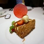 レストラン コートドール - イチゴのミルフィーユ