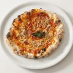 指帆亭 - 湘南しらすとトマトのピザ