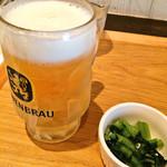 あさり食堂 - ランチビールのレーベンブロイ